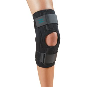 NoSwet® Knapp™ Hinged Knee Orthosis - Anterior Closure (7656, 7656HH, 7658, 7658HH)